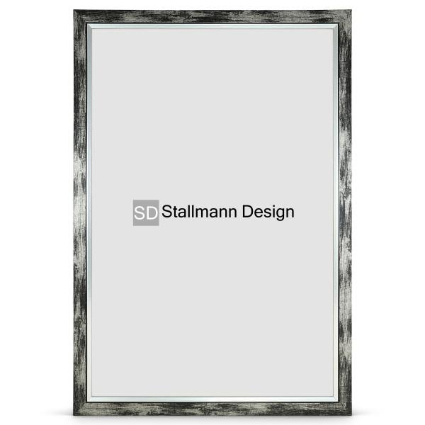 Stallmann Design Bilderrahmen schwarz-gewischt, 10x15 MDF »my Frames«